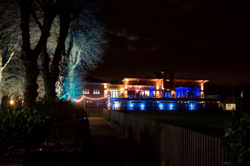Halse Pavilion Light up