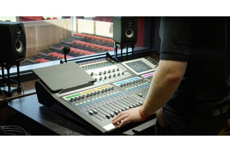 Cedars Hall recording studio