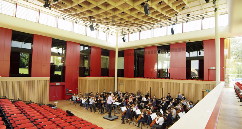 Orchestra in Cedars Hall