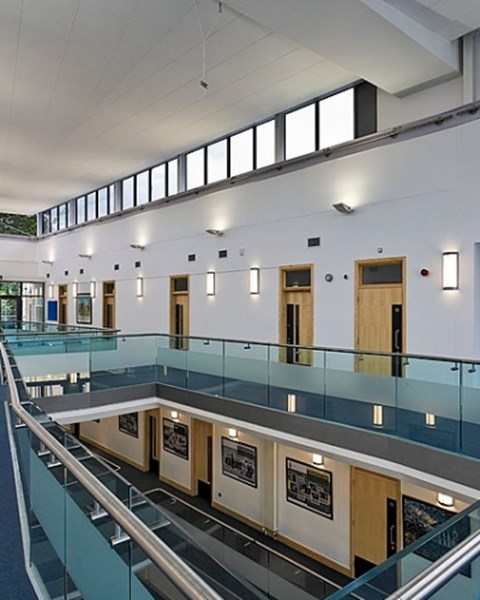 Atrium Favell Mill hill school