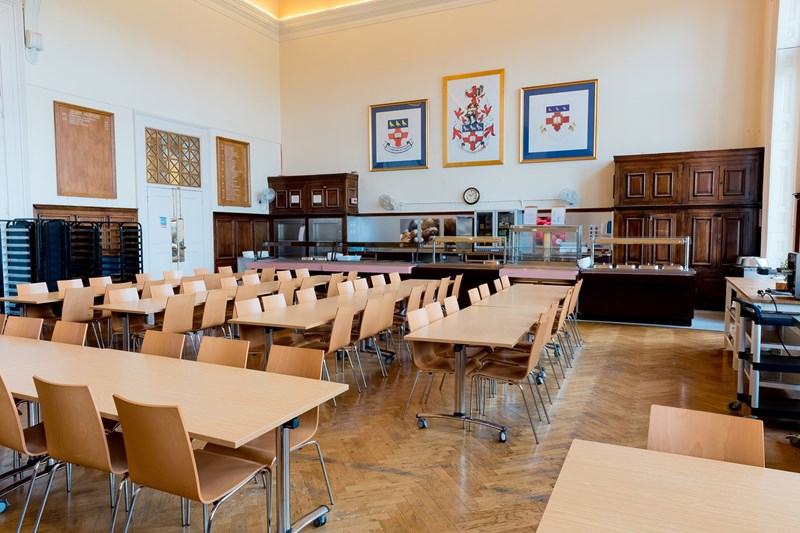 DINING HALL MILL HILL SCHOOL